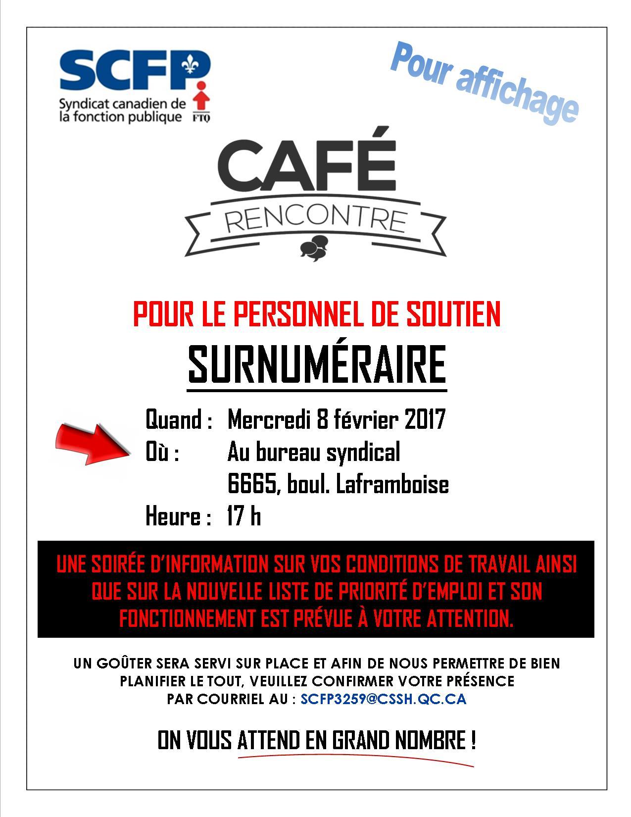 Scfp3259 section locale 3259 caf rencontre pour les - Bureau commun des assurances collectives ...